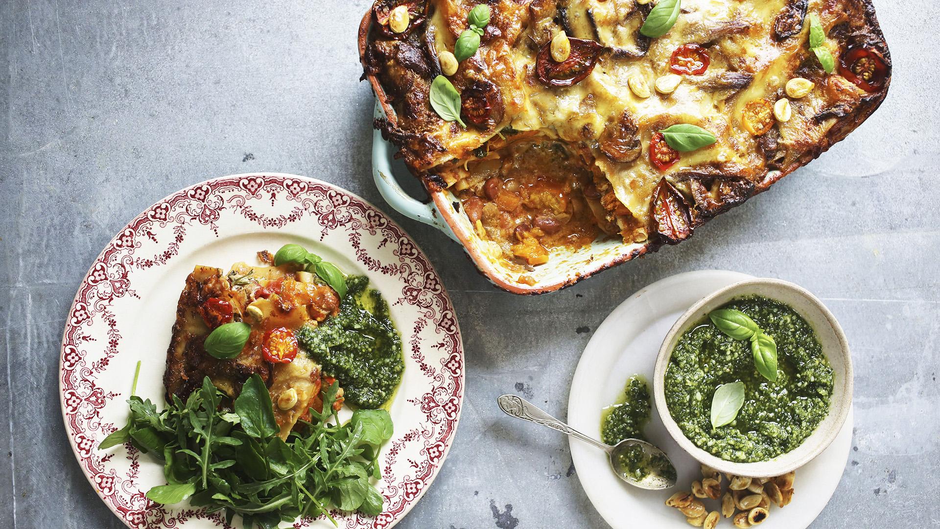 Najlepsza wegetariańska lasagne Johna Bishopa