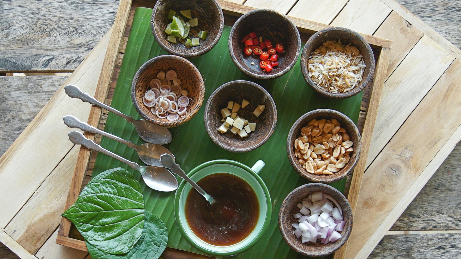 Tajskie Składniki I Przyprawy Kuchnia