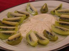 Lawendowa sałatka z kiwi