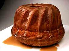 Biszkoptowa babka z brązowym cukrem