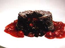 Babeczki czekoladowo - wiśniowe