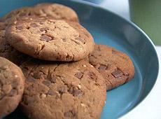 Ciasteczka arachidowo-czekoladowe