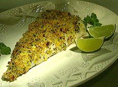 Ryba z szybkim sosem tatarskim z limonką i kolendrą