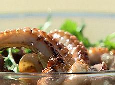 Tajska sałatka z ośmiornicy