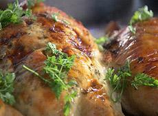 Kurczak pieczony z ricottą