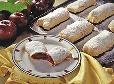 Strudlowe ciastka śliwkowe na sposób friulański