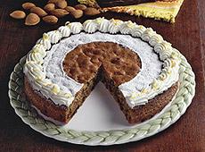 Tort czekoladowy z nutą pomarańczy
