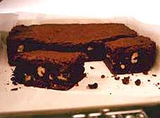 Czekoladowe brownie z orzechami