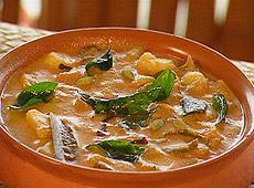 Curry z baraniny w mleku kokosowym