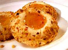 Cytrynowe ciasteczka z galaretką