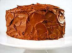 Ciasto czekoladowe z gęstą polewą