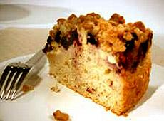 Ciasto z borówkami i kruszkonką