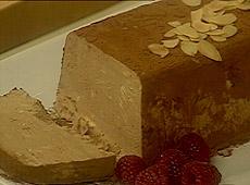 Semifreddo czekoladowo - migdałowe