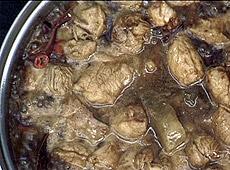 Wieprzowina babi tucheo z papryczkami chili