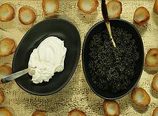 Ziemniaki z kawiorem