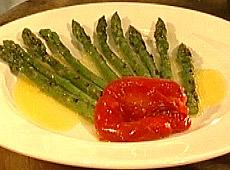 Szparagi z rusztu