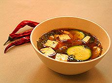 Ekspresowa zupa z tofu