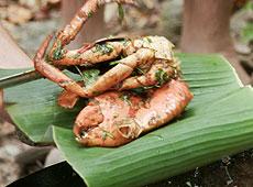 Kraby z chili