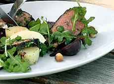Wołowina na ostro z sosem chrzanowym