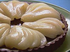 Tarta gruszkowo-czekoladowa