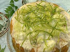 Ciasto limonkowo-kokosowe