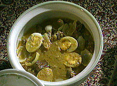 Kokosowe curry ze sri lanki