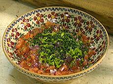 Meksykańska salsa pomidorowa