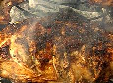 Kurczak w karaibskiej marynacie jerk