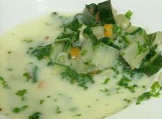 Zupa jarzynowa z trybulą Raymonda Blanc