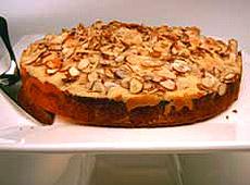 Migdałowe ciasto z serem ricotta