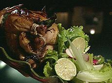 Kurczak faszerowany czosnkiem
