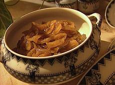 Marmolada z cebuli i imbiru