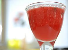 Energetyzujący napój z arbuza
