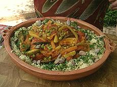 Kuskus z siedmioma warzywami