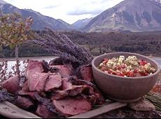 Jagnięcina z grilla w musztardzie i chili