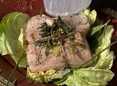 Rybne pakieciki z ziołami