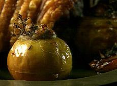 Nadziewane, pieczone jabłka