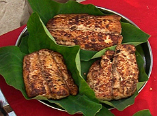 Ryba z curry i garam masalą