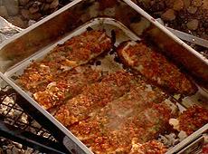 Filety z ryby w chrupiącej otoczce z chorizo