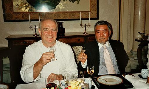 Rick Stein i ambasador Japonii