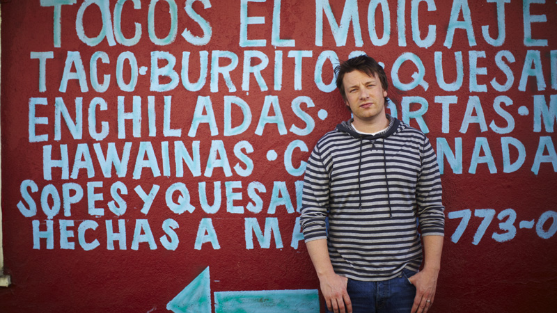 Żywieniowa rewolucja Jamiego Olivera