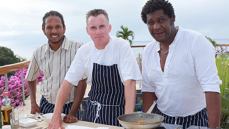 Gary Rhodes na Karaibach