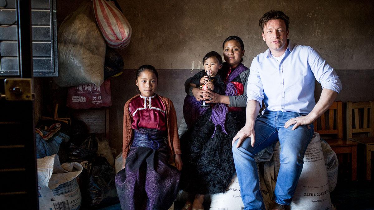 Jamie Oliver - przecukrzeni