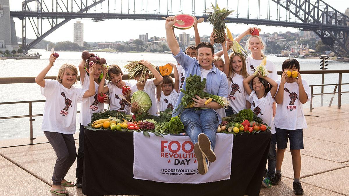 Żywieniowa rewolucja Jamiego - Sydney Live