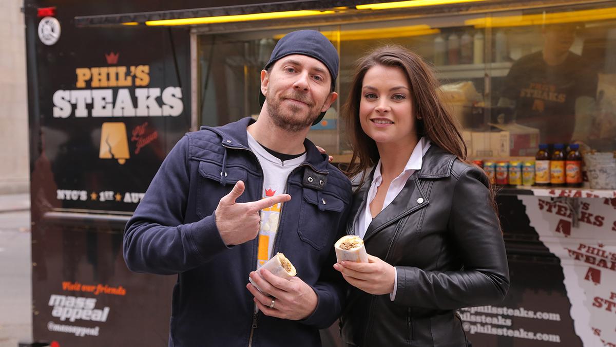 Miljuschka i amerykańskie food trucki
