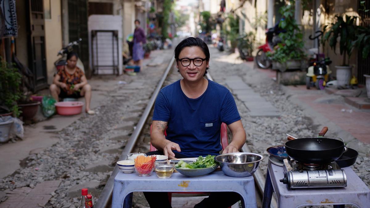 Luke Nguyen - koleją przez Wietnam
