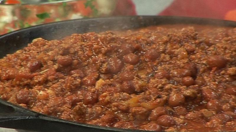 Chili z mięsa mielonego i fasoli
