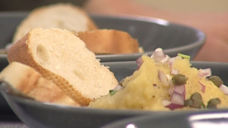 Fava - krem z grochu i oliwy