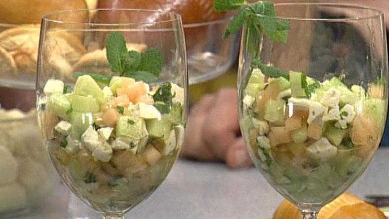 Sałatka z gruszek i awokado