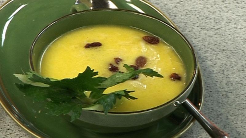 Zupa z selera z chrzanem